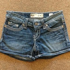 BKE Stella denim shorts size 24